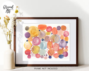 Dream Dust Original Watercolor Painting by Sara Franklin