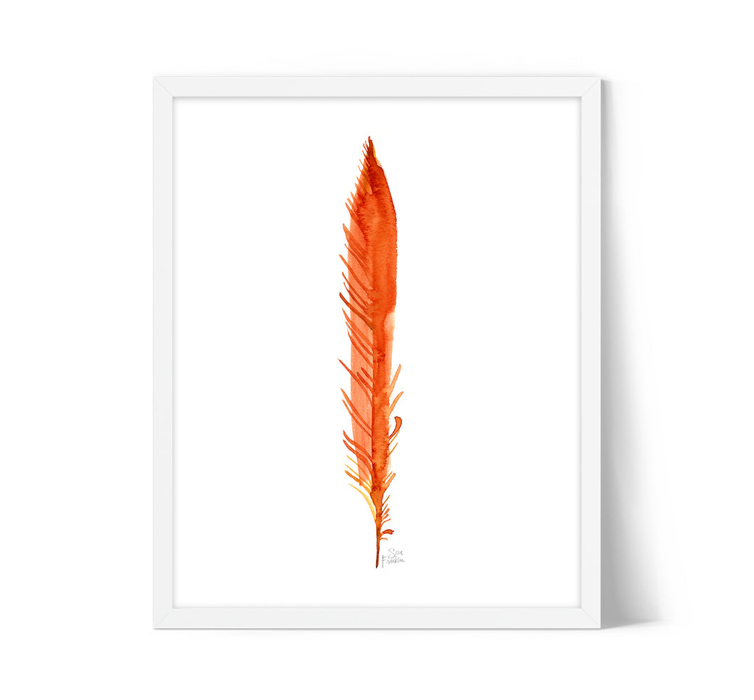 Feather Flirt by Sara Franklin