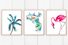Load image into Gallery viewer, Florida Coastal Set of 3 by Sara Franklin