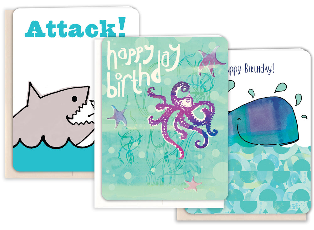 The King Of The Sea Birthday Pack
