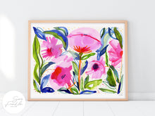 Load image into Gallery viewer, Pink Poppies by Sara Franklin