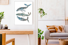 Load image into Gallery viewer, Whales by Sara Franklin