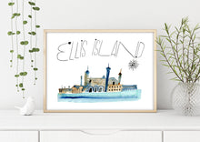 Load image into Gallery viewer, Ellis Island by Sara Franklin