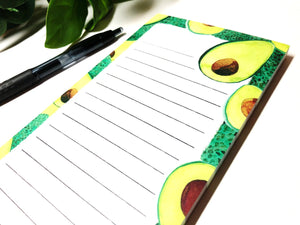 Avocados Magnetic Notepad by Sara Franklin