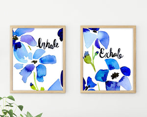 Inhale Exhale by Sara Franklin