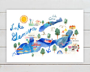 Lake Geneva by Sara Franklin