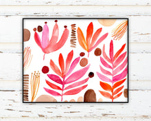 Load image into Gallery viewer, Red Leaves by Sara Franklin