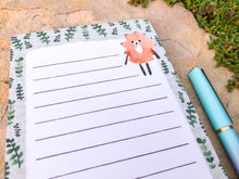 Load image into Gallery viewer, Hedgehog Magnetic Notepad by Sara Franklin