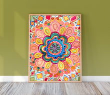 Load image into Gallery viewer, Summer Boho Mandala by Sara Franklin