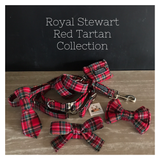 Royal Stewart Red Tartan Collars, Leads & Dog Accessories