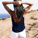 Backless Workout Tank