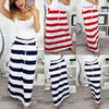 Katelyn High Waist Striped Maxi Skirt