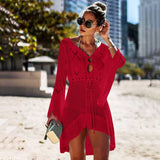 Lace Crochet Beach Cover Up