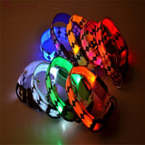LED Glow Plaid Collar
