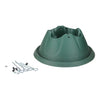Heavy Duty Green Easy Watering Christmas Tree Stand- For Live Trees Up To 10ft