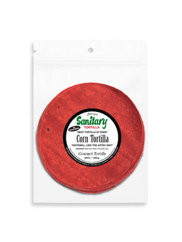 Red Corn Tortillas - 6 Packages