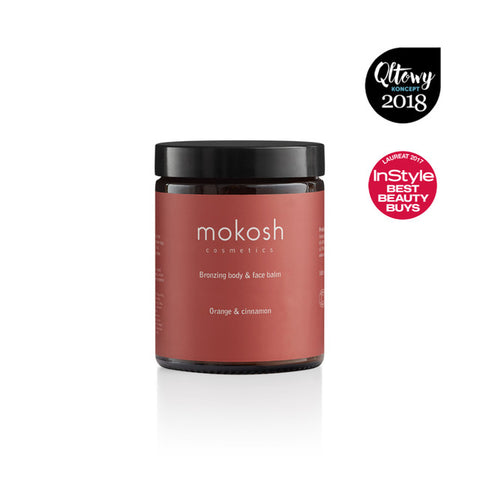 Bronzing body and face balm orange & cinnamon