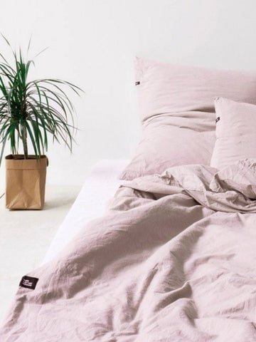 PURE COTTON Bedding Set_DUSTY PINK