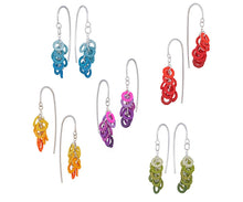 Load image into Gallery viewer, Circles hook earrings - clusters