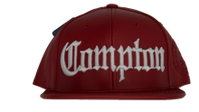 Load image into Gallery viewer, Leather Old English Compton Snapback