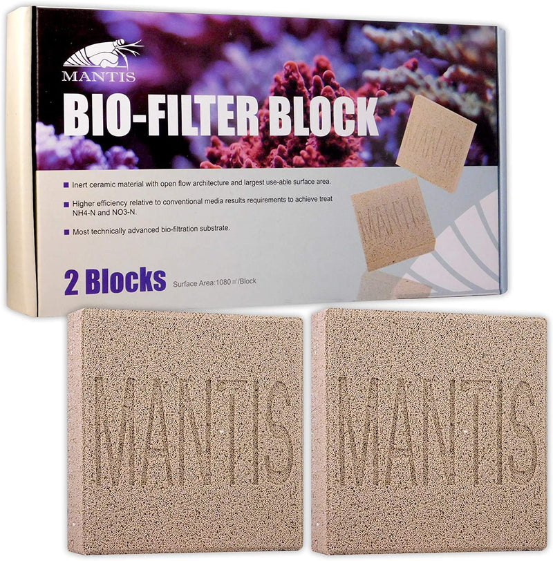 Mantis Bio Filter Blocks x 2 Pk