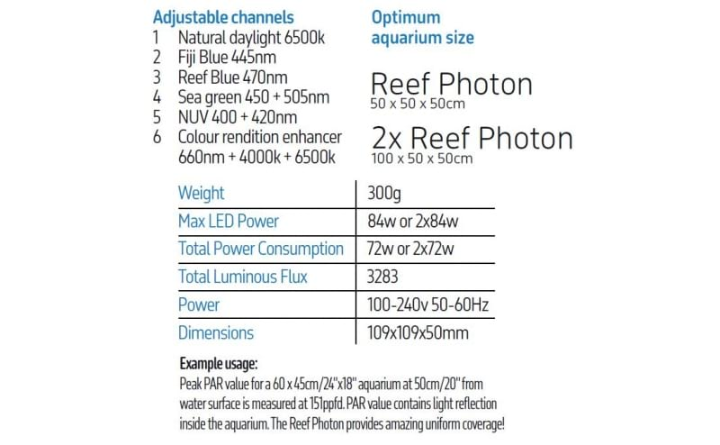 Reef Photon Connect LED 2x Lighting Pods