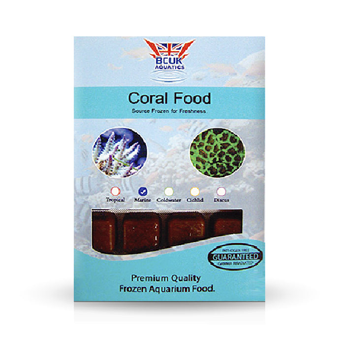 Coral Food Blister Pack 100g