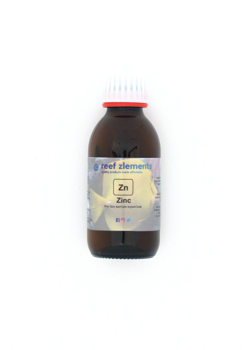 Reef Zlements Trace Elements -  Zinc 150ml