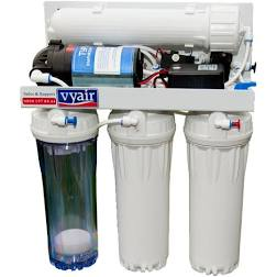 RO-100MP Pumped 4-Stage Reverse Osmosis