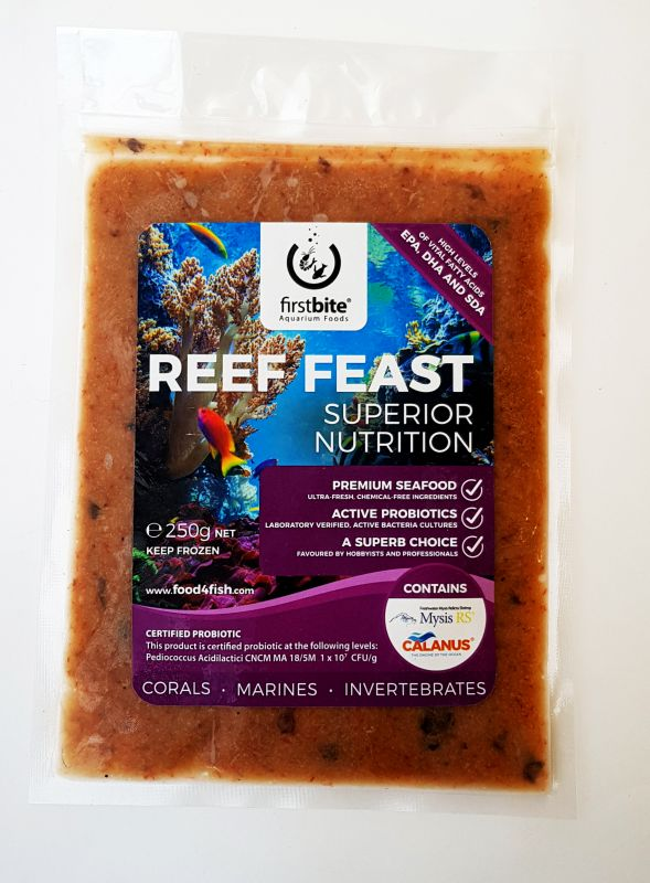 Frozen Reef Feast Slab 250g
