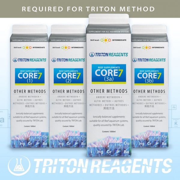 Triton Core 7 Reef Supplements - Other Methods