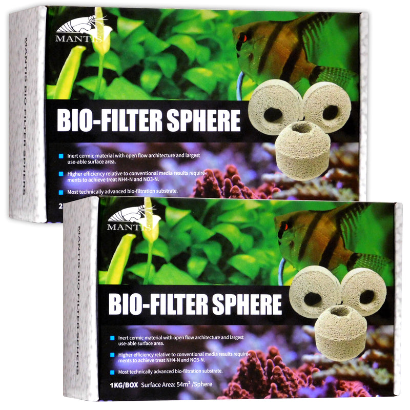 Mantis Bio-Filter Spheres 1kg Box