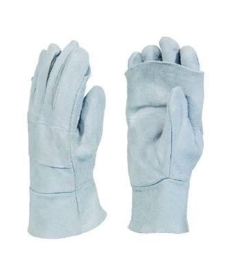 Chrome Leather Double Apron Palm Gloves