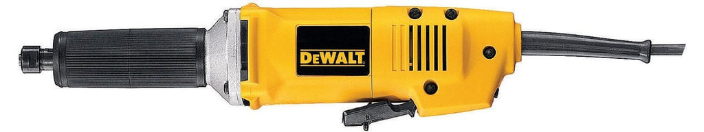 DEWALT Straight Grinder L/Neck 6mm 450W