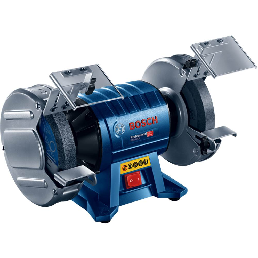 GBG 60-20 PROFESSIONAL DOUBLE-WHEELED BENCH GRINDER