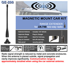 Zartek ZA-748 Magnetic Mount Car Kit