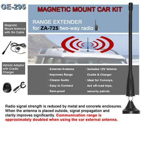 Zartek ZA-725/711 Magnetic Mount Car Kit