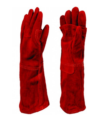 Red Heat Elbow Length Gloves