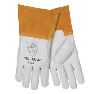 Tig Goat Skin Gloves with Chrome Extension