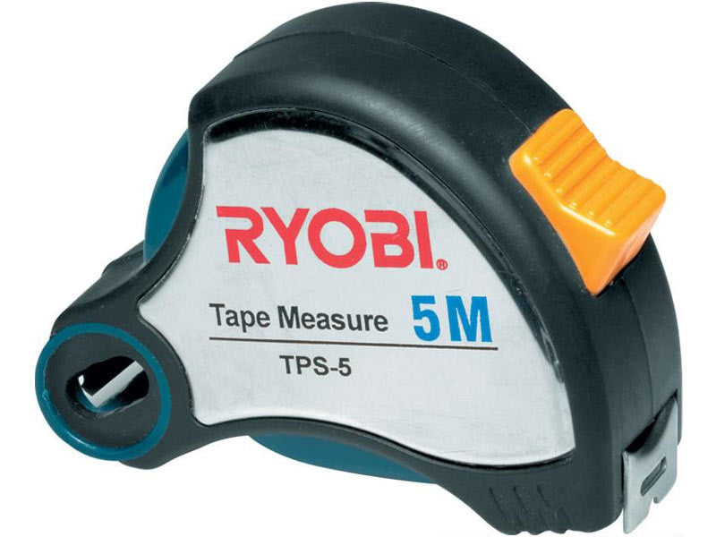 Ryobi 5m Steel Tape Measure + Sharpener