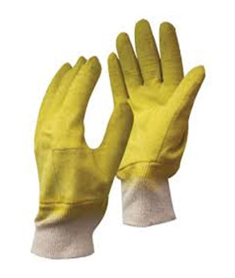 Yellow Comarex Gloves