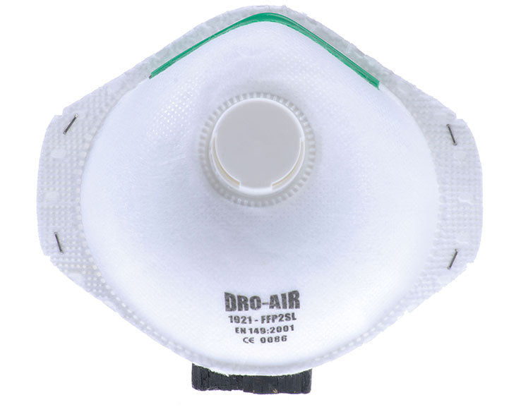 Dromex Droair Valved FFP2 Dust Mask (20)