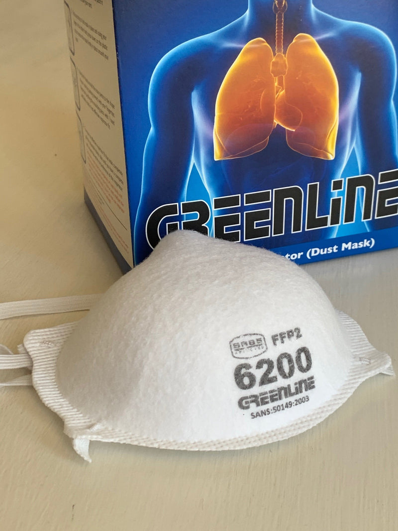 Greenline FFP2 Dust Mask (Box of 20)