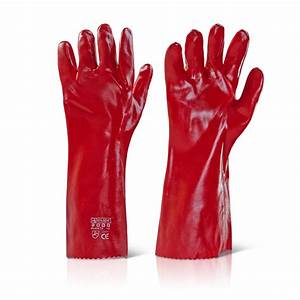 PVC Open Cuff Gloves