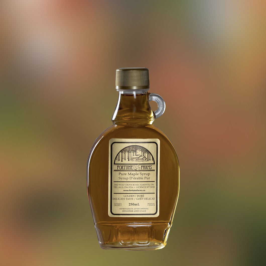 Maple Syrup - 250 ml glass bottle