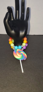Lollipop Swirl 2 bracelet stack