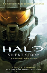 Halo Silent Storm Book Cover