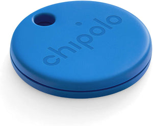 Chipolo ONE 2020 Loudest Water Resistant Bluetooth Key Finder Blue