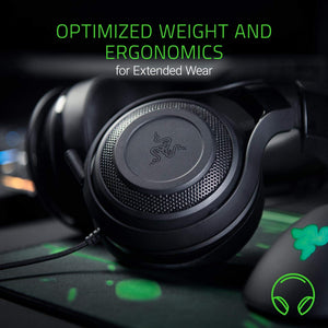 Razer - Limited Edition Black/Green - ManO'War Wired Headset w/Microphone