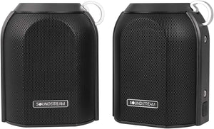 Soundstream h2Go IPX6 Water-Resistant Portable Bluetooth Speakers